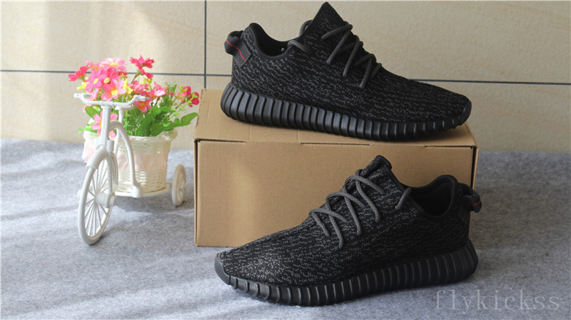 2016 New updated 7th batch original Version Yeezy Boost 350 Pirate Black