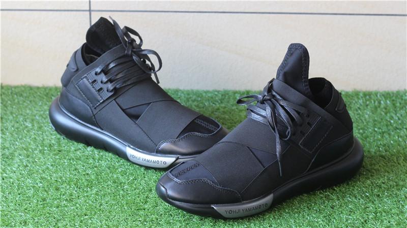 b690491423b5b Adidas Y-3 Y3 Qasa High All Black   www.flykickss.net