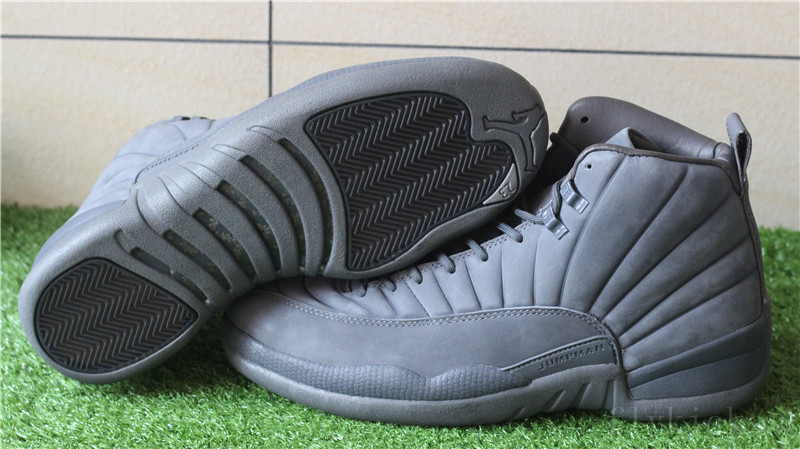 10f1418df59221 Air Jordan 12 Retro Dark Grey PSNY Public School   www.motionyz.com ...