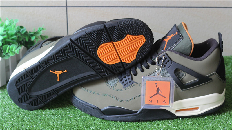 online store 7ff2d b317f Authentic Air Jordan Retro 4 X Undefeated : www.flykickss ...