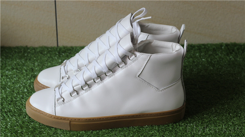 Balenciaga Arena Leather White