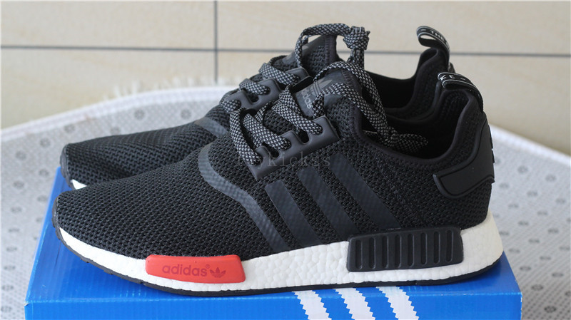 a10e16e47 Adidas NMD R1 PK Black and Red(real boost)   www.flykickss.net ...