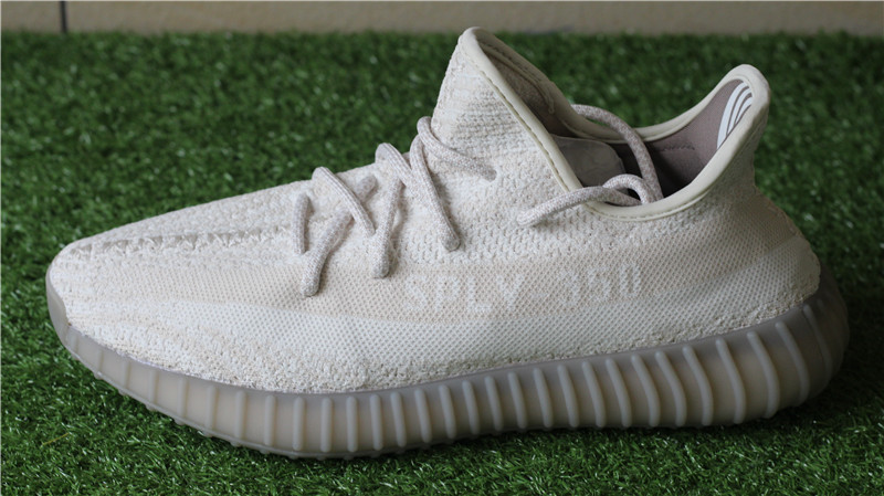 ADIDAS YEEZY BOOST 350 V2•Cream White BB6373 INFANT 8K & 9K