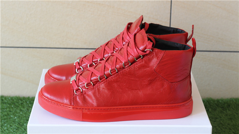 Balenciaga Arena Leather Red