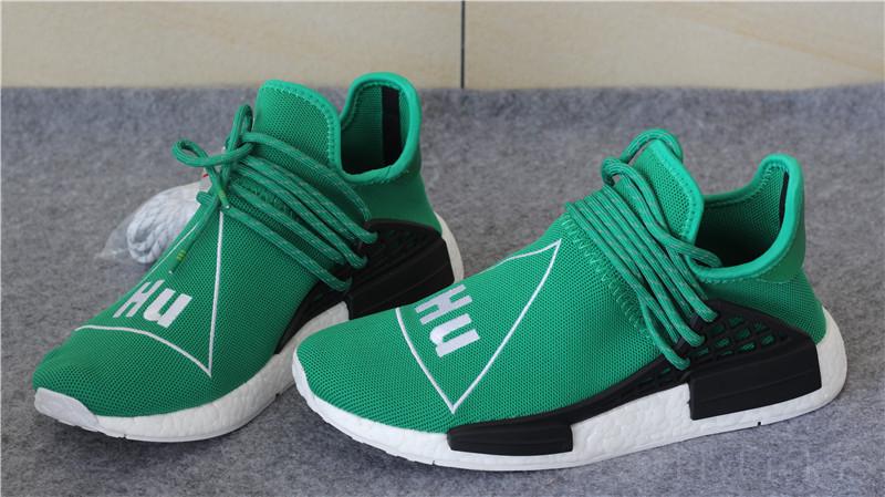 Original Pharrell x adidas NMD Human Race Green   www.flykickss.net ... 0c6547676