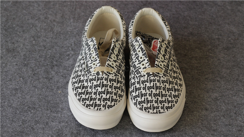 vans fear of god authentic
