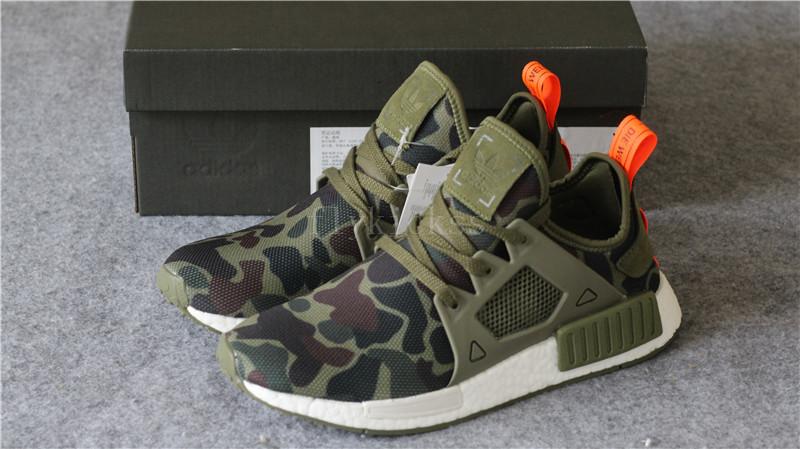 12081e6e8d4e7 Real Boost Adidas NMD XR1 PK Green Camo   www.flykickss.net ...