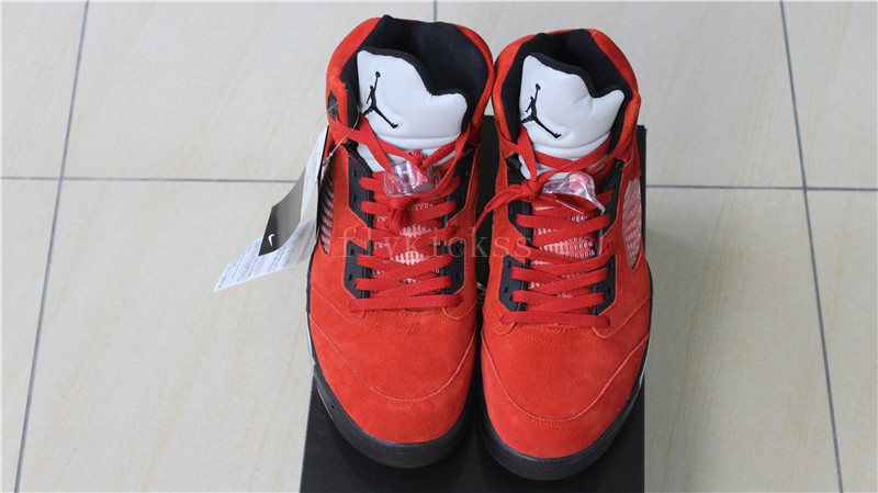 f5534230cd50 ... switzerland air jordan v raging bull red suede buy and sell authentic jordan  5 retro d9a73