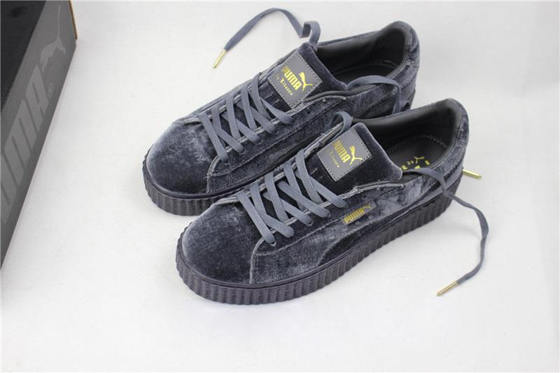 online store d6031 492c3 Rihanna Puma X Fenty Creepers Grey : www.motionyz.com ...