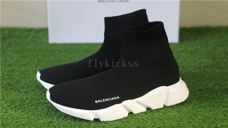 Balenciaga Speed Trainer Sock Race Runners Black