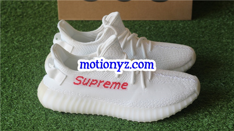 3612a60389d591 Adidas Yeezy Boost 350 V2 Supreme Triple White   www.flykickss.net ...