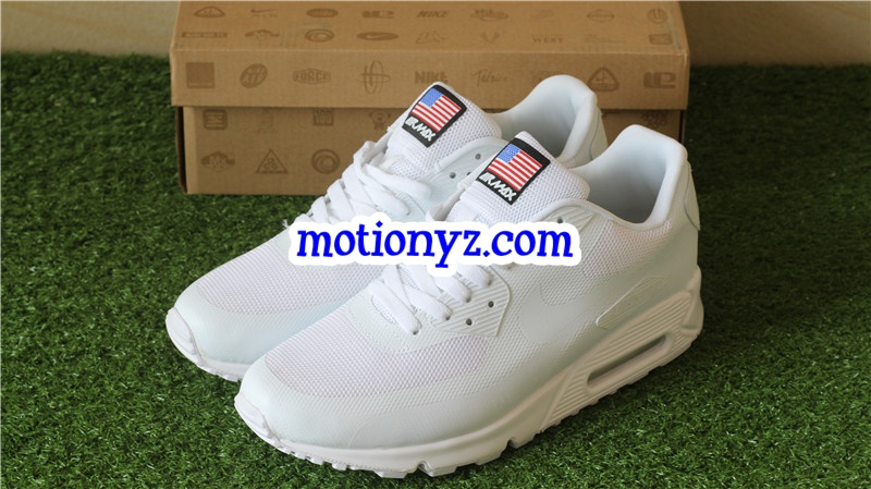 newest 22034 e0c94 Nike Air Max 90 Independence Day White : www.flykickss.net ...