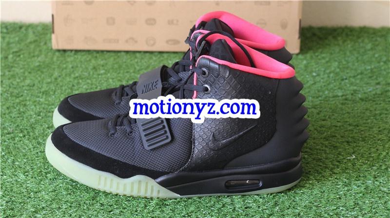 quality design 210f3 b06c3 Nike Air Yeezy 2 NRG Solar Red Glow in the dark