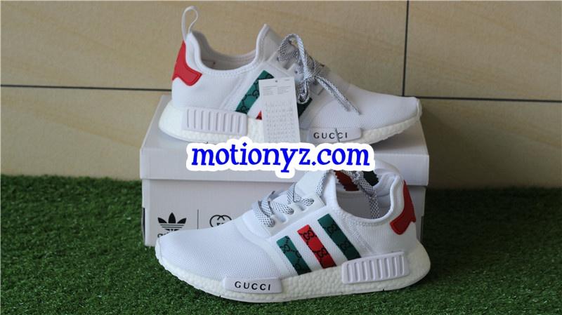 feb0035af88 Adidas NMD Custom White GC Real Boost
