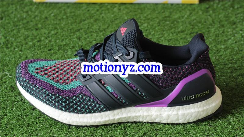 4985a69eae1 Real Boost Adidas Ultra Boost 2.0 Night Navy Shock Purple   www ...