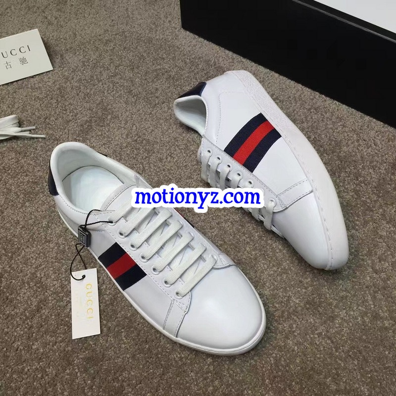 Brand Sneaker Low Top White Blue