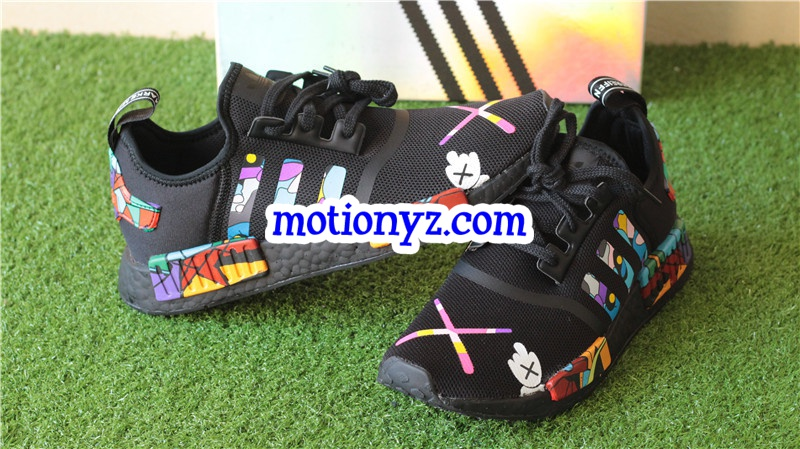 Kaws X Real Boost Adidas NMD R Runner Custom Wwwflykickssnet - Business invoice templates free kaws online store
