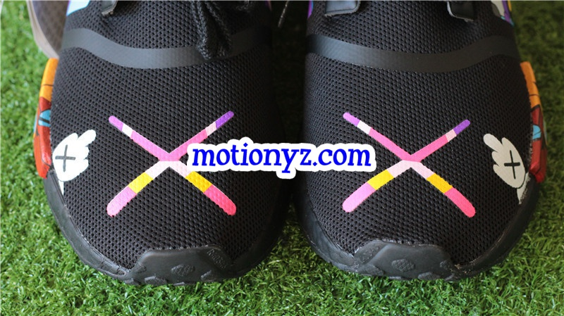 529449fb2df83 Kaws x Real boost Adidas NMD R1 Runner Custom   www.flykickss.net ...
