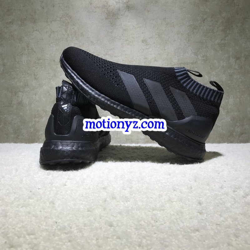 detailed look f478b 38af9 Real Boost Adidas ACE 16 Ultra Boost Triple Black BY9088
