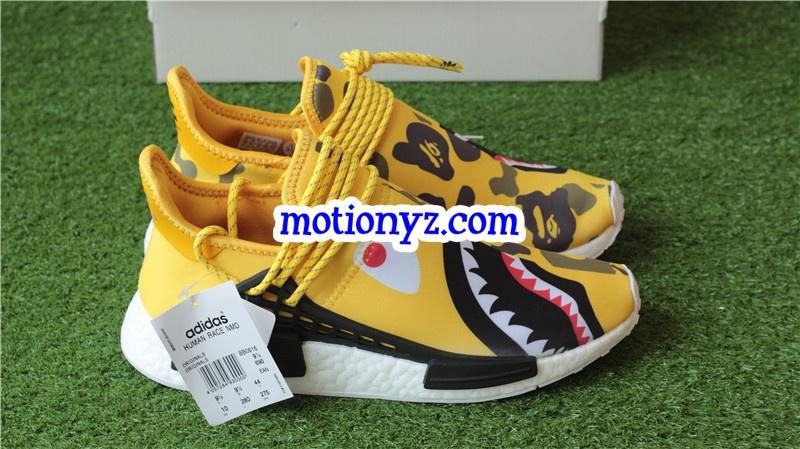 pretty nice ebafd 77bba Adidas Pharrell Williams NMD Human Race Camo Bape Yellow