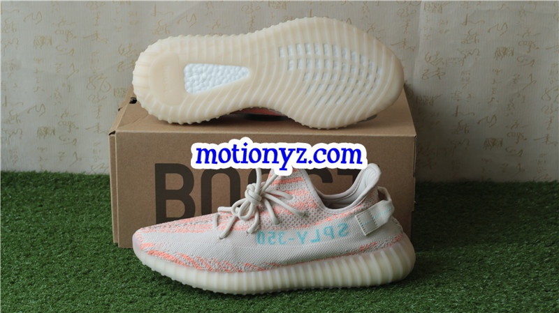 a14f4fc0395 Adidas Yeezy Boost 350 V2 Chalk Coral Pink   www.flykickss.net ...