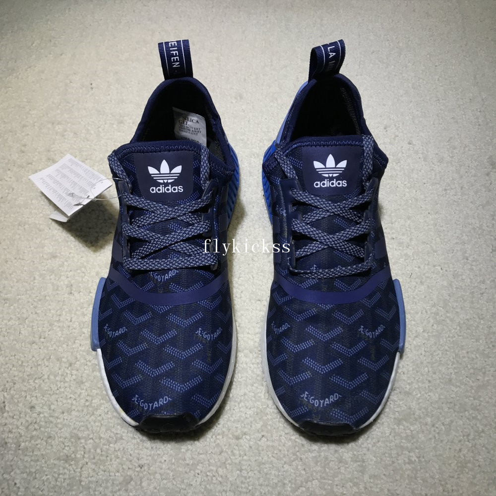 3963b17bc LVS X Adidas NMD R1 PK Blue Real Boost   www.flykickss.net