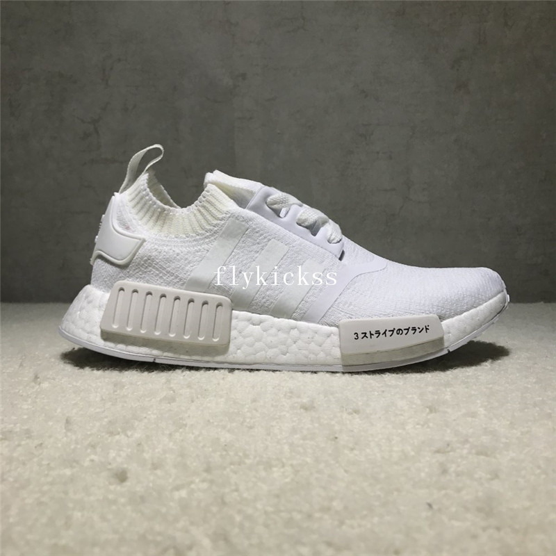 b8594a4f4c07e Real Boost Adidas NMD R1 PK Japan Triple White   www.flykickss.net ...