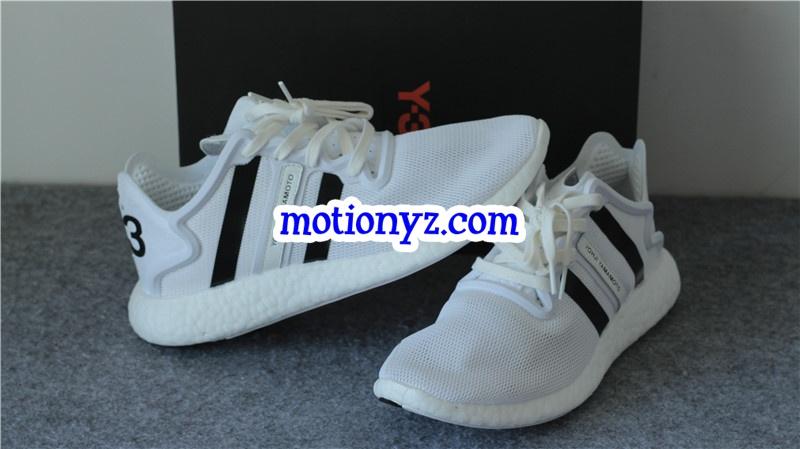 8645461e4c97d Real Boost Adidas Y3 YOHJI RUN White   www.flykickss.net