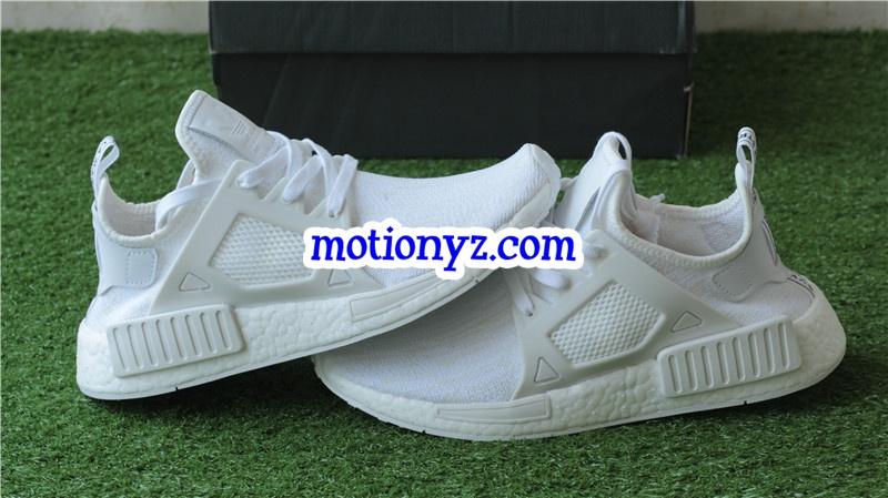 the best attitude 5ef0f 0eb76 Real Boost Original Adidas NMD XR1 PK Triple White