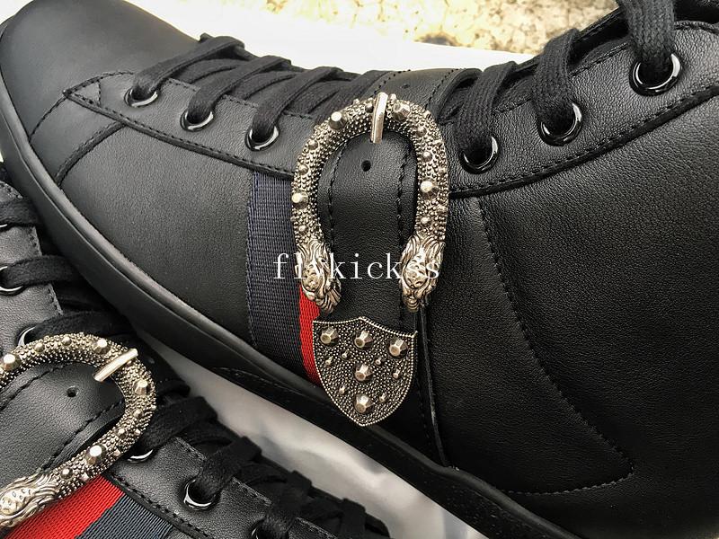 751a5a2d7a5 GC Ace Embroidered Sneaker High Top Black   www.flykickss.net ...