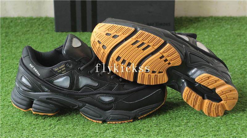 06bdb09de637 Raf Simons x Adidas Ozweego 2 Consortium Black Gum   www.flykickss ...