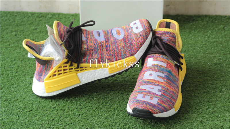 aec1c12ab Pharrell Williams X Adidas NMD Human Race Rainbow Multicolor