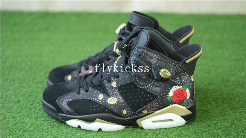 official photos c4dd7 c91dc Authentic Air Jordan 6 Retro Chinese New Year