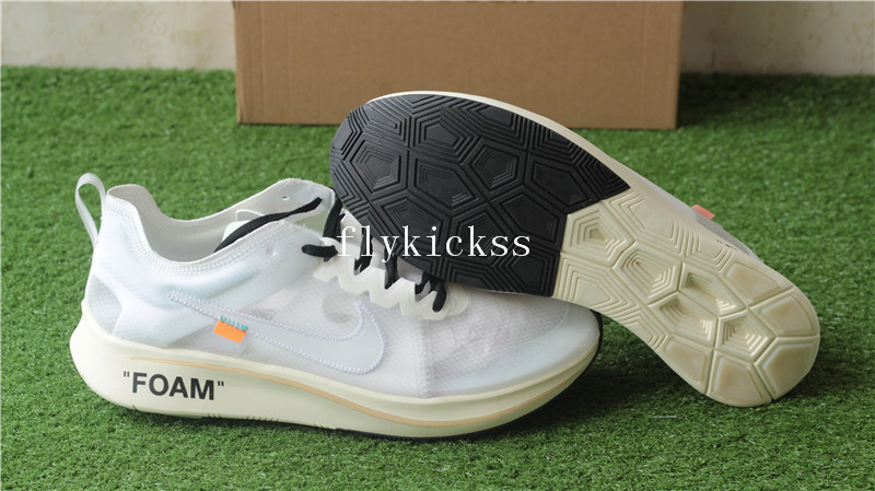 f1547140e45f3 Correct Version Off White x Nike Zoom Fly