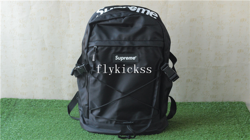 Supreme Black Backpack