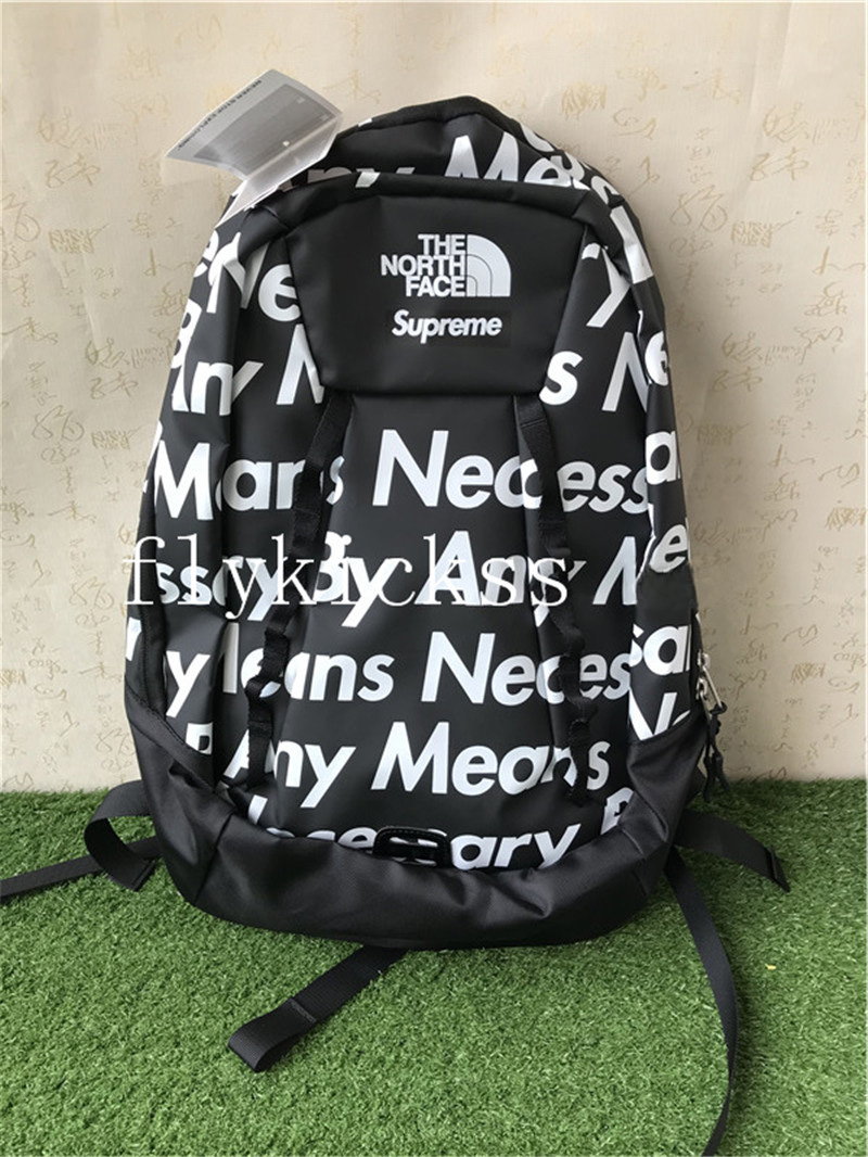 Supreme The North Face By Any Means Base Camp Crimp Backpack Black
