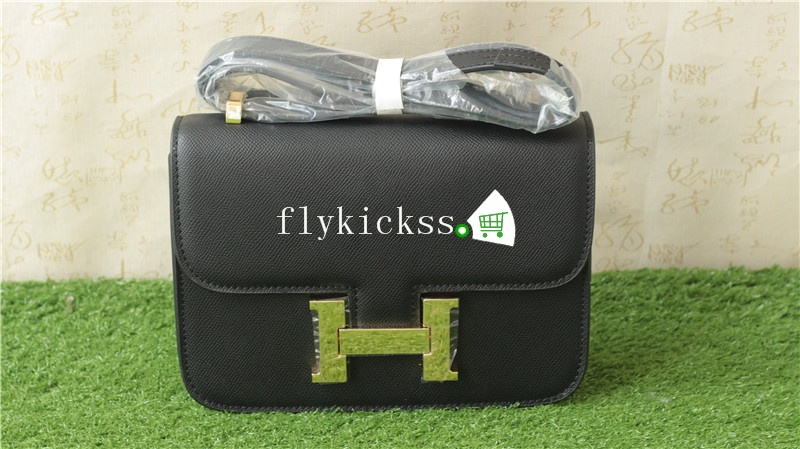 Hermes Black Shoulder Bag 24inches