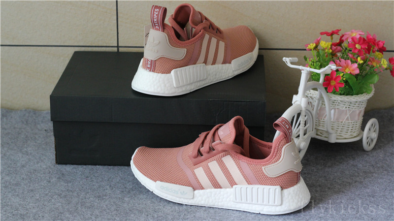 Adidas NMD R1 Runner WOMENS Salmon Raw Pink