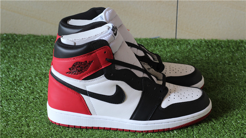 Authentic Air Jordan 1 OG Black Toe