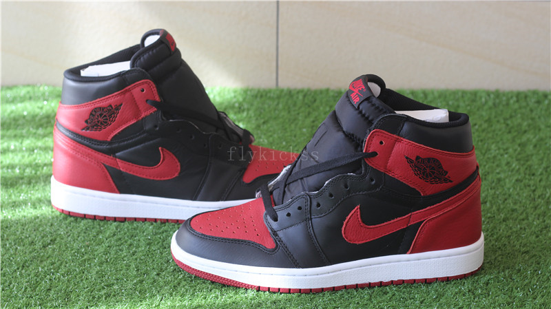 2016 Authentic Air Jordan 1 Retro OG High Banned