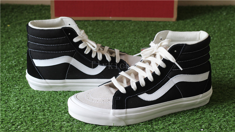 Original Fear Of God x Vans Sk8 Hi Reissue Black