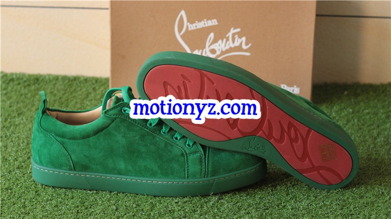 Christian Louboutin Sneaker Low Top Green