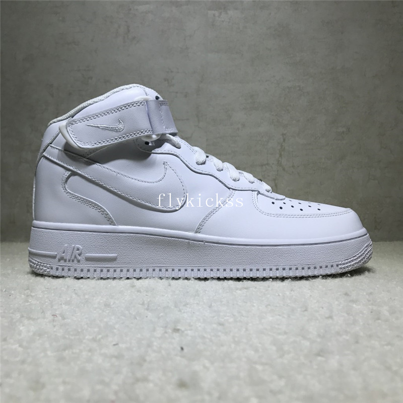 Nike Air Force 1 High Top Pure White