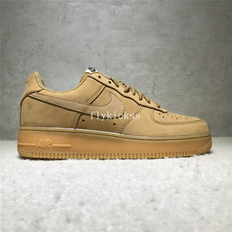 Nike Air Force 1 Low Top Brown