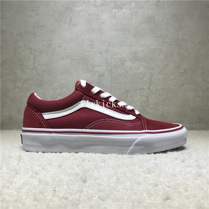 Vans Old Skool Red White