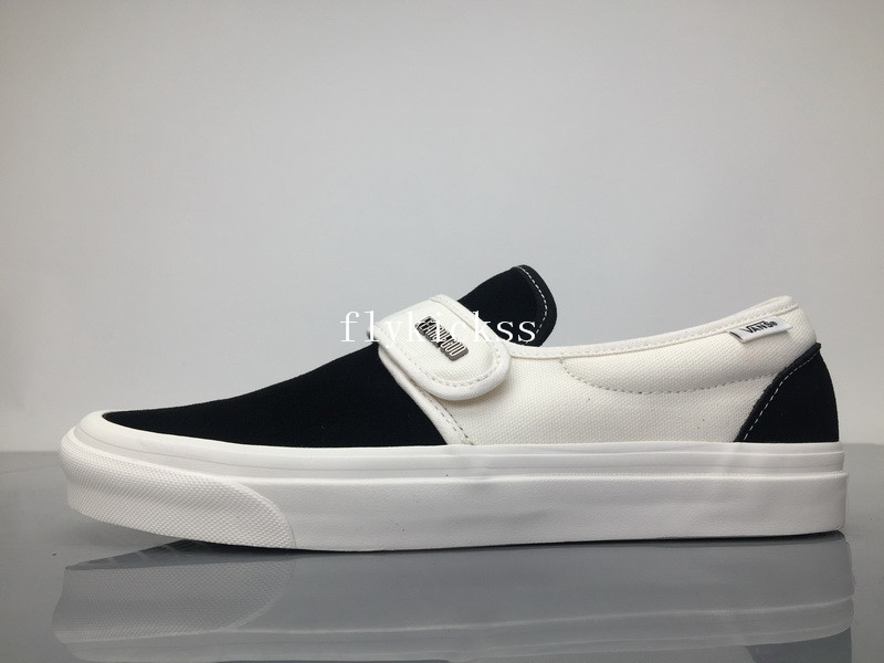 Fear of God x Vans Slip-On VN0A3MQ5NP4H Black White