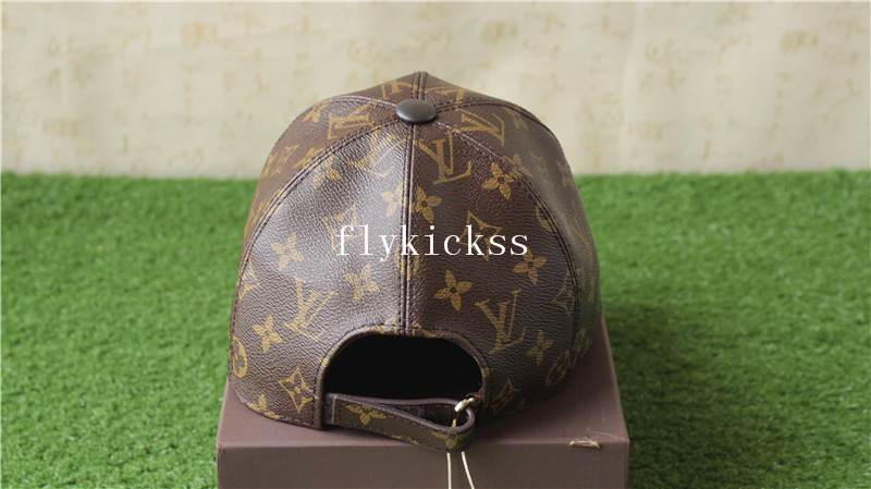 LVS Leather Cap