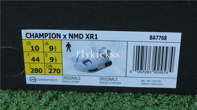 size 40 b0ca3 54d2c Champion X Adidas NMD XR1 D Real Boost