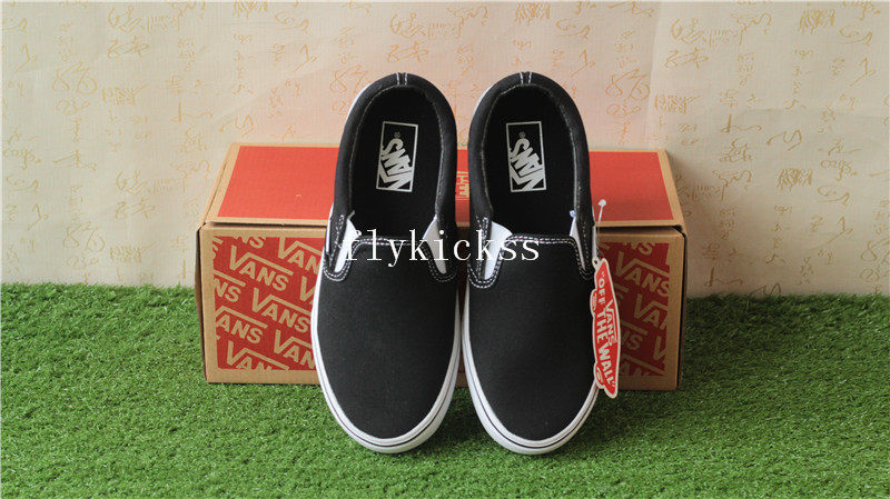 Vans Classic Slip-On Black Lazy Shoes