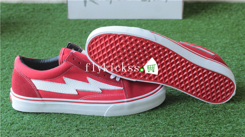 Vans Revenge X Storm Old Skool Red Bottom